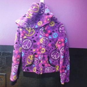 Girls Size 6/6x Zip up hoody